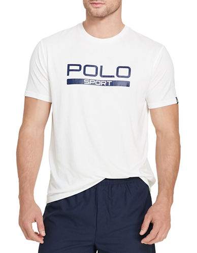 Polo Sport Performance Jersey T-Shirt-PURE WHITE-Large 88543571_PURE WHITE_Large