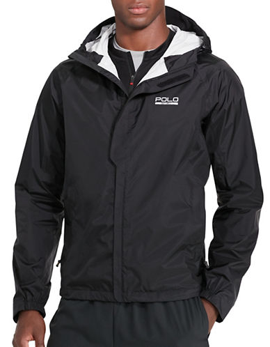 Polo Sport Waterproof Ripstop Jacket-POLO BLACK-Large 88916782_POLO BLACK_Large