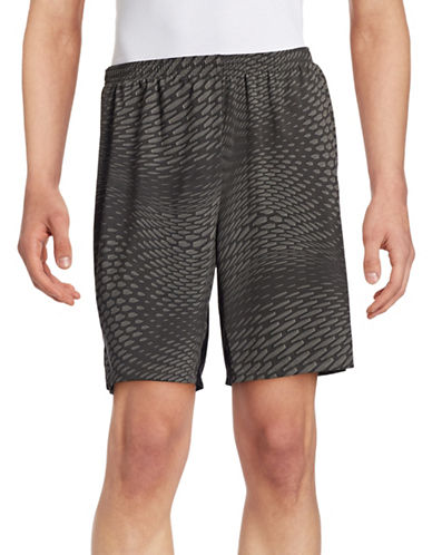 Polo Sport Groove Print Training Shorts-BLACK MU-X-Large 88543390_BLACK MU_X-Large