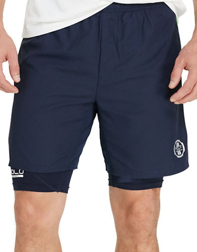 Polo Sport Lined Athletic Shorts-FRENCH NAVY-Large 88543402_FRENCH NAVY_Large