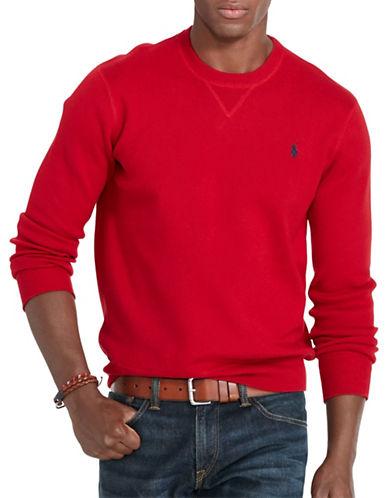 Polo Ralph Lauren Combed Cotton Crew Neck-MARTIN RED-Small 88525671_MARTIN RED_Small