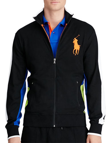 Polo Ralph Lauren Cotton Interlock Track Jacket-POLO BLACK-XX-Large 88526266_POLO BLACK_XX-Large