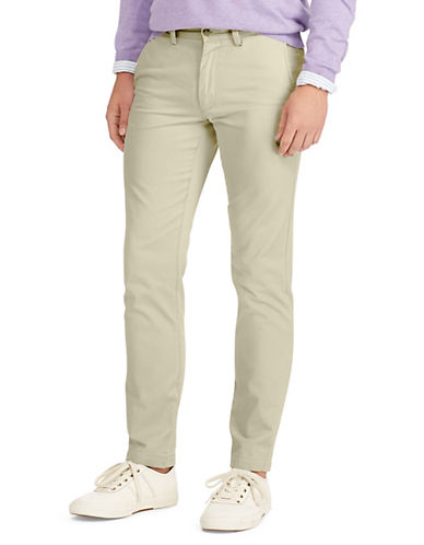 Polo Ralph Lauren Slim-Fit Chino Pants-TAN-34X30