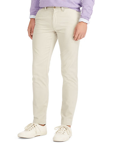 Polo Ralph Lauren Slim-Fit Chino Pants-CLASSIC STONE-38X30
