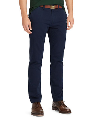 Polo Ralph Lauren Slim-Fit Chino Pants-AVIATOR NAVY-42X30