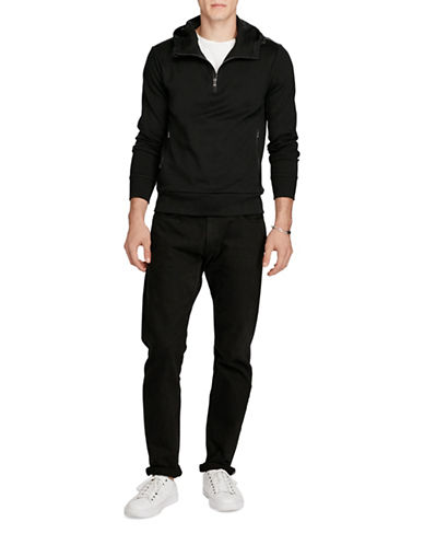 Polo Ralph Lauren Cotton Interlock Pullover-POLO BLACK-X-Large