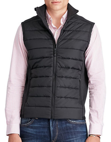 Polo Ralph Lauren Paneled Full-Zip Vest-POLO BLACK-Small 88688039_POLO BLACK_Small