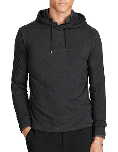 Polo Ralph Lauren Modal-Pima Hoodie-BLACK-Large 88688056_BLACK_Large