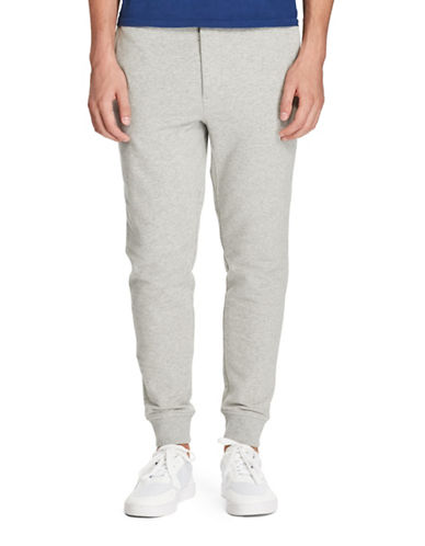 Polo Ralph Lauren Cotton-Blend Fleece Joggers-ANDOVER HEATHER-XX-Large