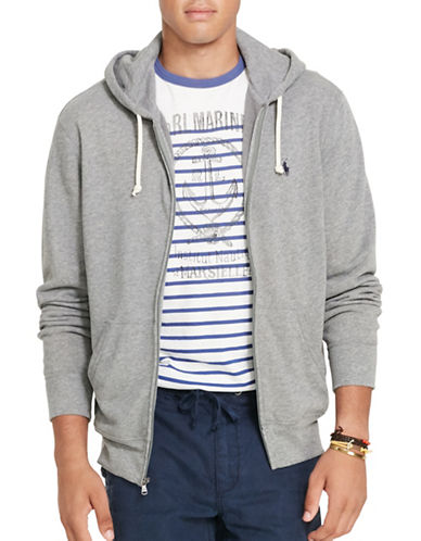 Polo Ralph Lauren French Terry Hoodie-SPEEDWAY GREY-XX-Large 88685709_SPEEDWAY GREY_XX-Large