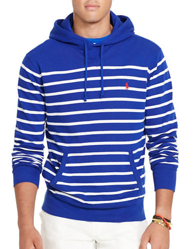 Polo Ralph Lauren French Terry Hoodie-BLUE-X-Large 88685711_BLUE_X-Large