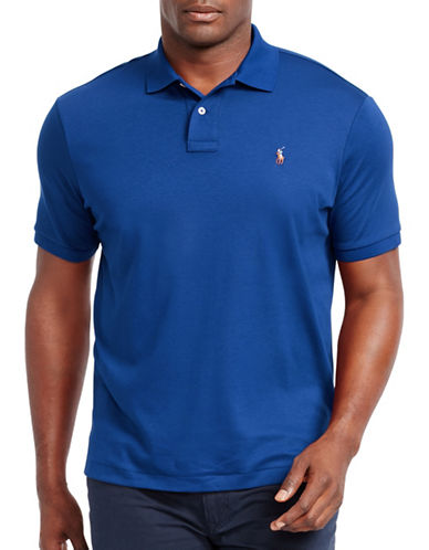 Polo Ralph Lauren Classic-Fit Cotton Polo-NEW IRIS-5X Tall