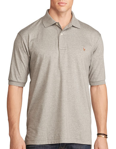 Polo Ralph Lauren Classic-Fit Cotton Polo-SPEEDWAY GREY-3X Tall