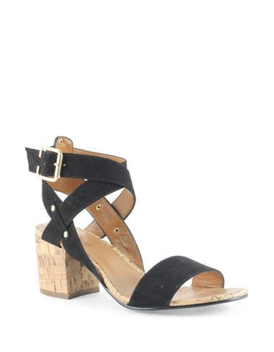 Indigo Rd Elea-A Camoscio Sandals-BLACK-9.5