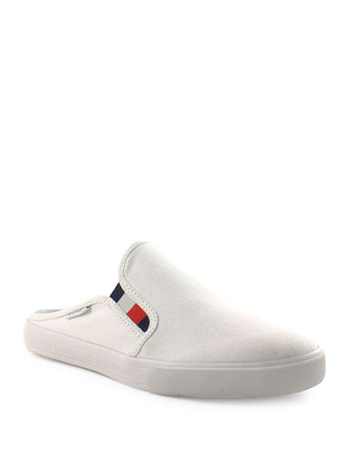Tommy Hilfiger Frank4-A Backless Sneakers-WHITE-6