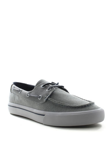 Tommy Hilfiger Pharis-A Canvas Flats-GREY-9.5