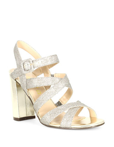 Unisa Sydniee Strapped Sandals-GOLD-6