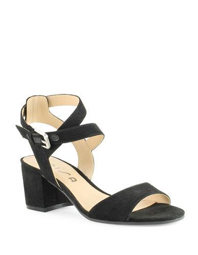 Unisa Elty Block Heel Sandals-BLACK-7.5