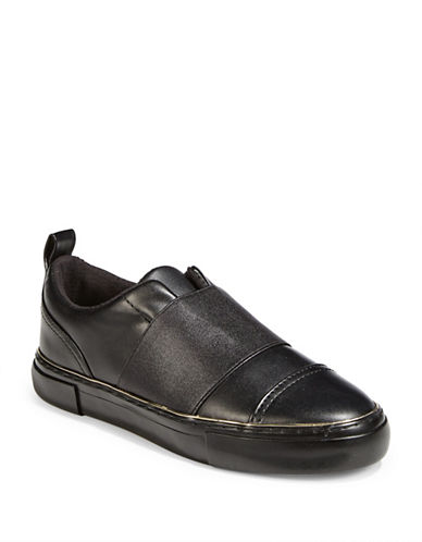 Guess Gearup Slip-On Sneakers-BLACK-9.5