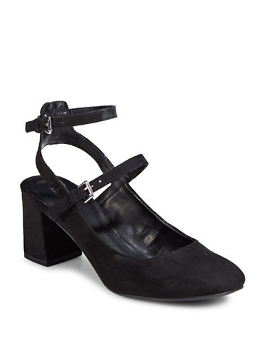 Indigo Rd Double Strap Pumps-BLACK-9