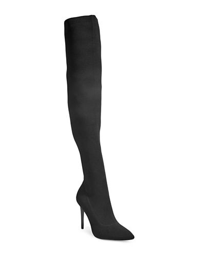 Kendall + Kylie Anabel2 Over-the-Knee Boots-BLACK-7.5