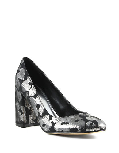 Marc Fisher Ilyssa2 Pumps-BLACK SILVER-9.5