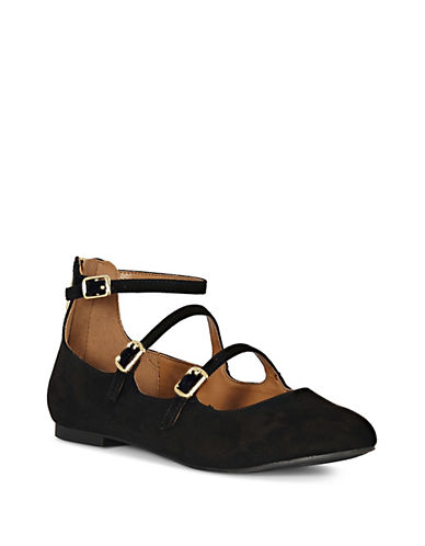 Indigo Rd Georgia-A Mary Jane Flats-BLACK-7.5