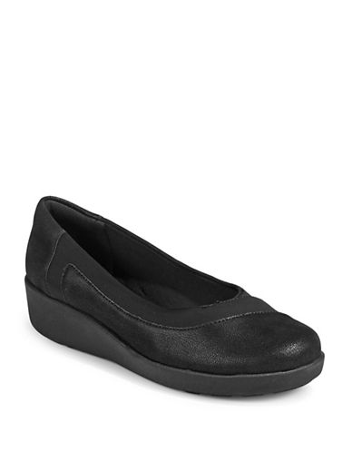 Easy Spirit Kathleen Casual Slip-On Shoes-BLACK-6W