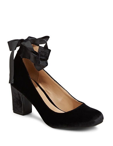 Indigo Rd Elysa Velvet Pumps-BLACK VELVET-10