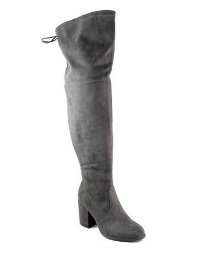 Unisa Dedrii Over-the-Knee Boots-GREY-8.5
