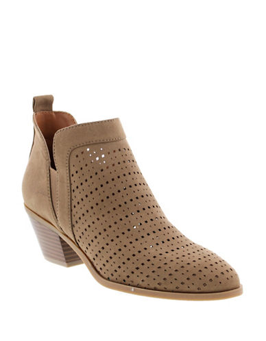 Indigo Rd Bonnie Perforated Booties-BEIGE-8.5