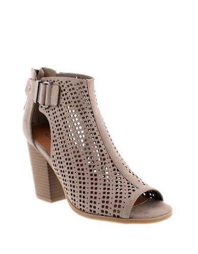 Indigo Rd Irecila Perforated Booties-BEIGE-6.5