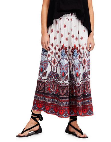 Free People Bohemian Wide-Leg Pants-IVORY-Medium