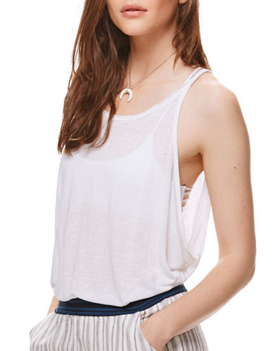 Free People Sand Dollar Tank-WHITE-Small 88939178_WHITE_Small