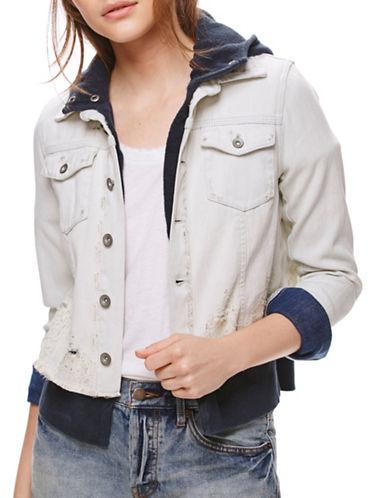 Free People Double Weave Denim Jacket-WHITE-Large 88939208_WHITE_Large