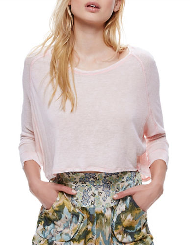 Free People Nashville Dolman T-Shirt-PINK-Small 89150220_PINK_Small