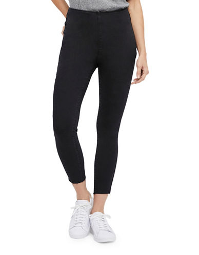 Free People Easy Goes It Jeggings-BLACK-30