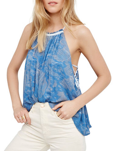 Free People Season In The Sun Tank Top-BLUE-X-Small 89258640_BLUE_X-Small