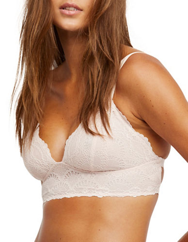 Free People Let Me Kiss You Soft Bra-NATURAL-Large