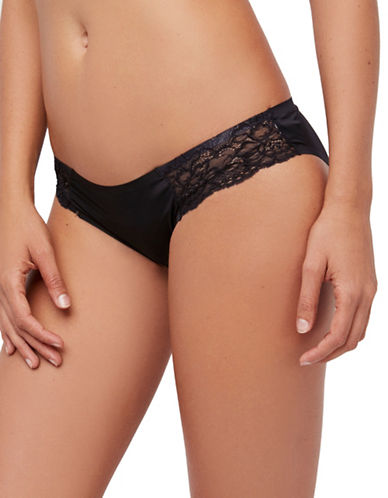 Free People Smooth Bikini-BLACK-Small