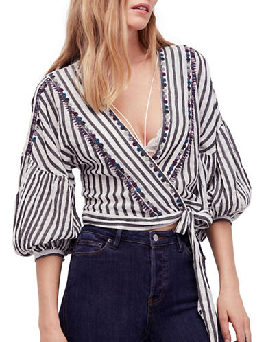 Free People Barcelona Nights Cotton Top-NATURAL-X-Small