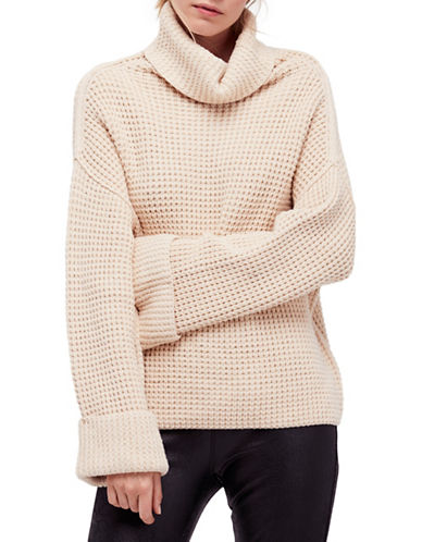 Free People Park City Pullover-NATURAL-Large