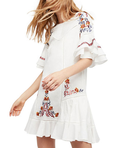 Free People Pavlo Dress-IVORY-Large