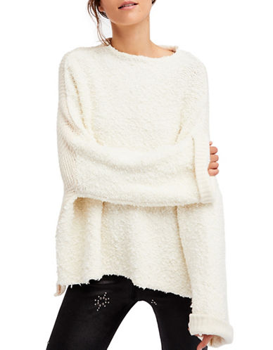 Oversized Fuzzy Sweater | Hudson's Bay
