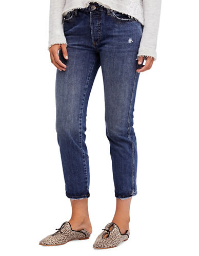 Free People Slim Boyfriend-BLUE-30