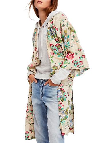 Free People Latimer Kimono-NATURAL-X-Small