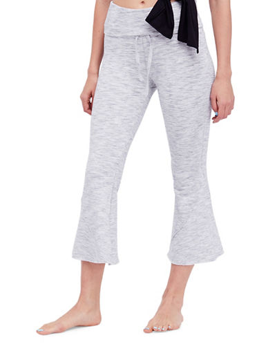 Free People Nico Flare Pants-GREY-Small
