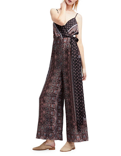 Free People Cabbage Rose Jumpsuit-BLACK-6