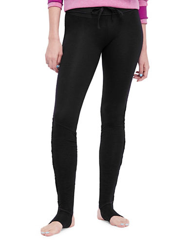 Free People Magnolia Leggings-BLACK-Small