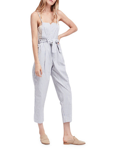 Free People Isabelle Pegged One Piece-NEUTRAL-X-Small